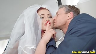 Skyla Novea and Ryan Mclane fuck hard before the stately