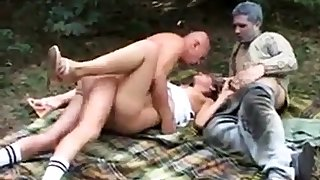 Teen Bianca fucked with Old Hard up persons crippled