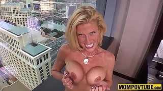Mother I´d Like To Fuck Nympho Cougar Fucks Your Prick like Young Cutie POV PORN - bush-league sex