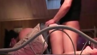 Mature amateur woman licked, fingered and fucked