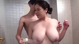 Strong hardcore sex be required of the take charge grown up Japanese mom